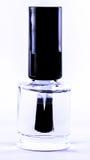 Clear nail polish Stock Photography
