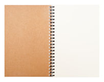 Clear notebook Royalty Free Stock Image