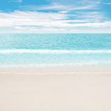 Clear ocean and beach Royalty Free Stock Photo