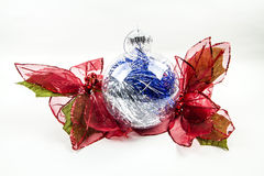 Clear Ornament with leaves Royalty Free Stock Photos