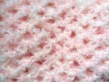 Clear pink knit Stock Photo