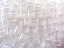 Clear Plastic jewellery Royalty Free Stock Photo