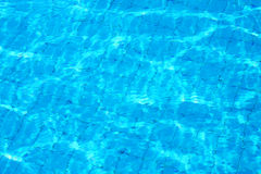clear pool water Stock Photo