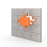 Clear puzzle Stock Photo
