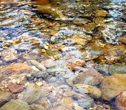 Free Clear River Water Flowing Over Rocks Stock Image - 181753671