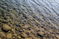 Clear river water Stock Image
