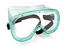 Clear safety glasses Stock Image