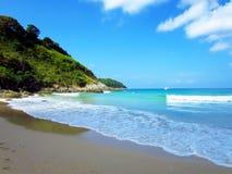 Clear sea and  bluesky. In phuket, andaman sea Royalty Free Stock Photos