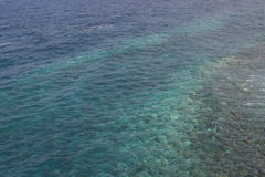 Clear sea detail in La Palma. (Canary Islands Royalty Free Stock Photo