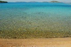 Clear sea panorama Royalty Free Stock Photos