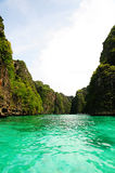 Clear sea in phuket Stock Photo