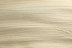 Clear sea sand as background, space for text and closeup. Summer vacation. Background royalty free stock image