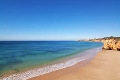 Clear sea on a summer day. Stock Photos