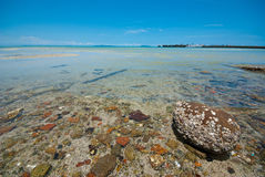 Clear sea water Royalty Free Stock Images