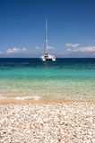 Clear sea water greece Royalty Free Stock Photos