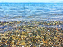 Clear Sea Water Royalty Free Stock Photography