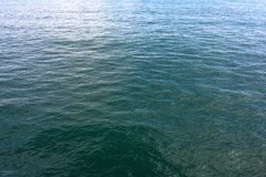 Clear sea water image on Turkey, Istanbul stock image
