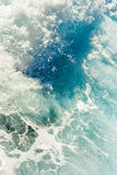 Clear sea water surface Royalty Free Stock Photo
