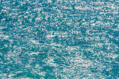 Clear sea water surface Royalty Free Stock Images