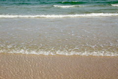 Clear sea waves Stock Photography