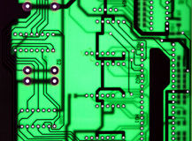 Clear seamless chipset board texture background Royalty Free Stock Image