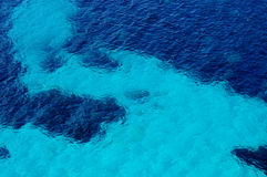 Clear seawater Stock Images