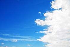Clear sky Stock Images