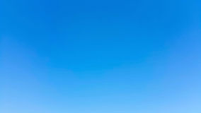 Clear sky. Clearly blue sky without clouds Royalty Free Stock Photo