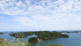 Clear Sky in Hundred Islands Stock Photography