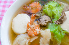 Clear Soup Stock Photography