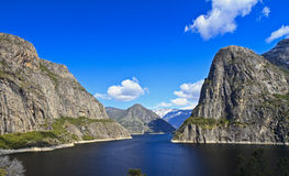 Clear Spring Day at Hetch Hetchy Stock Photo
