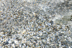 Clear Spring Water Texture Royalty Free Stock Image