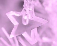 Clear star lighting. Stock Photos
