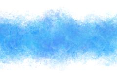 Summer blue cold ice abstract or vintage watercolor paint background. Clear summer blue cold ice abstract or vintage watercolor paint background vector illustration