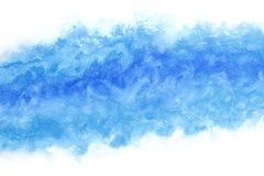 Summer blue sea wave splash abstract or vintage watercolor paint background. Clear summer blue sea wave splash abstract or vintage watercolor paint background royalty free illustration
