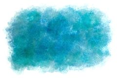 Summer blue sky abstract or vintage watercolor paint background. Clear summer blue sky abstract or vintage watercolor paint background royalty free illustration