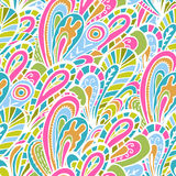 Clear summer seamless pattern Stock Images