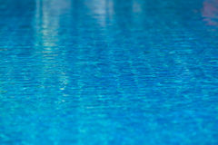 Clear transparent pool water background Stock Photo