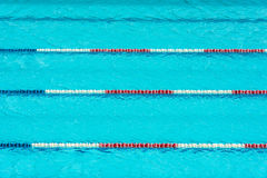 Clear transparent swimming pool Royalty Free Stock Photography