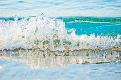 Clear turquoise sea water Royalty Free Stock Image