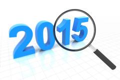 Clear view in 2015 Stock Photos