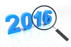 Clear view in year 2016 Stock Photography