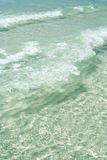 Clear water. Sea background Royalty Free Stock Photos