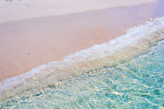Clear water in Alghero foreshore Royalty Free Stock Image