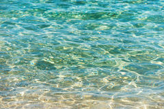 Clear water background Royalty Free Stock Photo