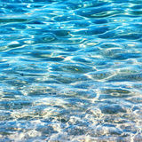 Clear water background Stock Image
