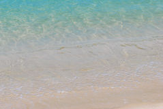 Clear Water Beach. A photo taken on some clear blue water at a beach stock photo