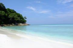 Clear water beautiful sea at Tachai island, Phang-nga Thailand Stock Photo