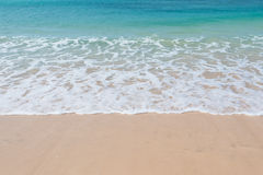 Clear water in Chaves beach Praia de Chaves in Boavista Cape Ve Stock Images