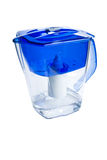 Clear water filter pitcher Royalty Free Stock Photography